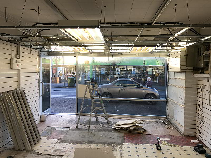 shop renovation