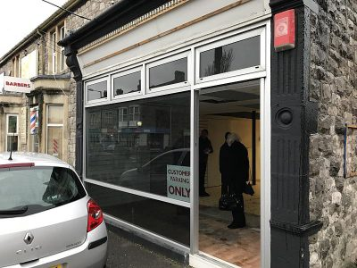 Commercial Shop to be renovated