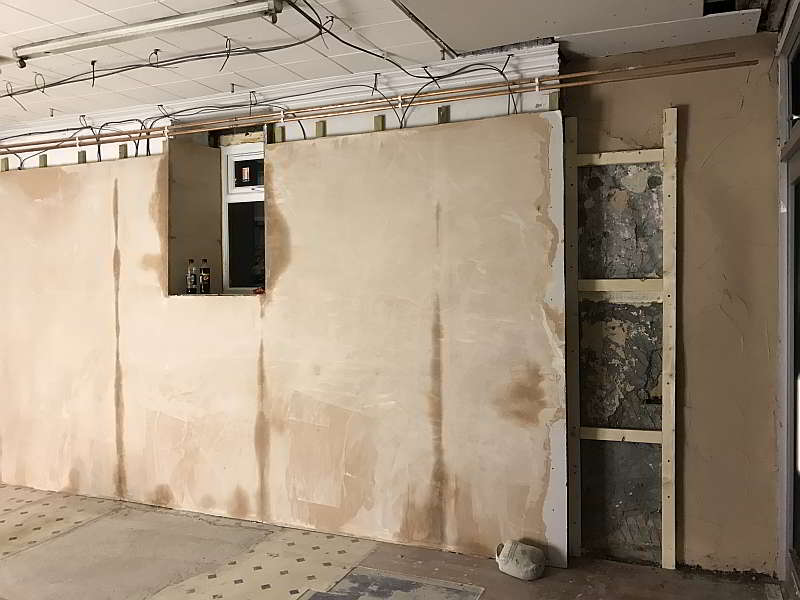 Plastering of Walls