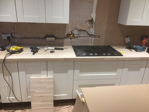 Re-Wiring Kitchen Fitting Weston super Mare