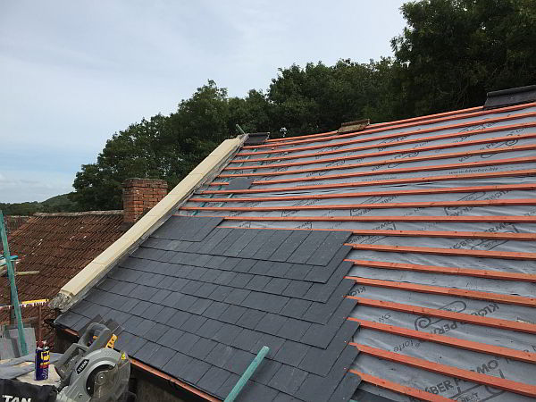 New Roof Installers Carpentry Building Business