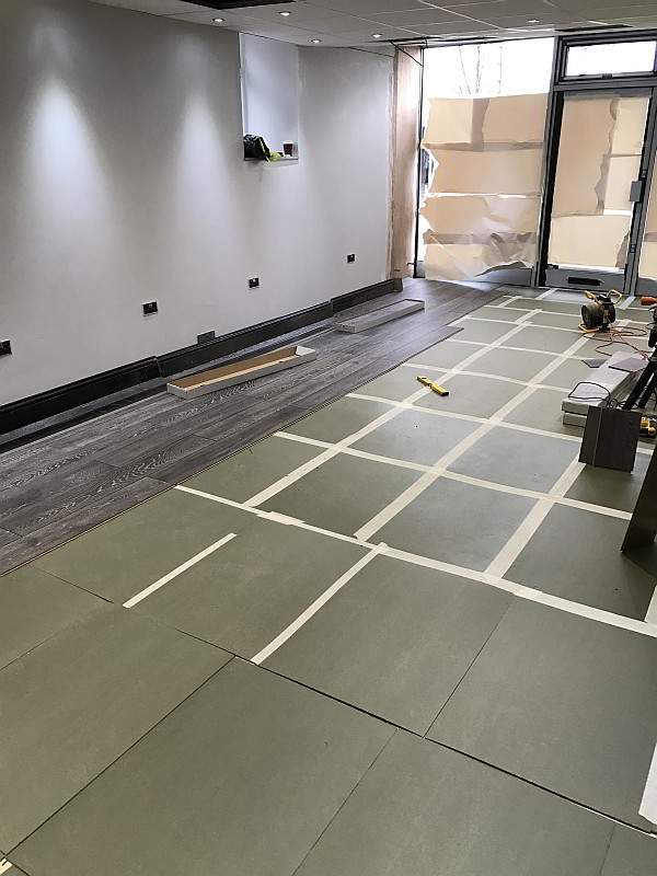 Commercial Shop Flooring Somerset