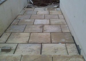 Patio Slab Laying Weston-super-Mare